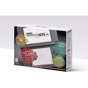 Nintendo New 3ds Xl Black Preto + Carregador Pronto Entrega