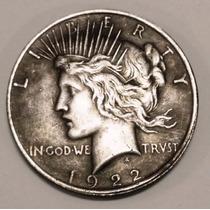 Moneda Dolar 2 Caras, Batman Coleccionables Plata Vieja 1922