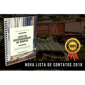 Fabricantes E Distribuidores De Roupas - Atualizada Em 2018