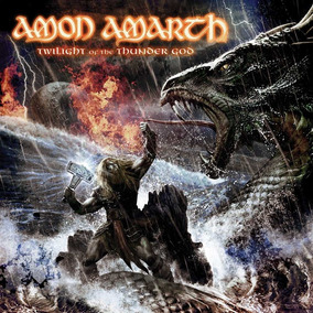Cd Amon Amarth Twilight Of The Thunder God -carta Registrada