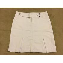 Saia Jeans Branca Meucci F/grátis Tam=48