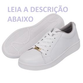 Tênis Casual Feminino Branco, Selten 4030
