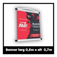 Banner Fotográfico 50x70cm Lona 440gr
