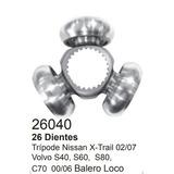 Triceta Tripoide Volvo S40, S60, S80, C70 00-06, 26040