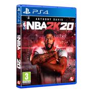 Nba 2k20 Ps4 Fisico Nuevo Local Al Publico Playstation 4