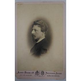 Cabinet Portrait Do Conde D´eu (1860 C.)
