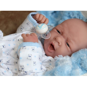 Aww! Baby Boy Cachorrinhos ! Boneco Reborn Prematuro Life L