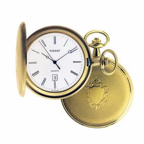 Reloj Tissot De Bolsillo Savonnette T83450813 Con Leontina