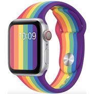Pulseira De Silicone Para Apple Watch 38/40mm - Pride