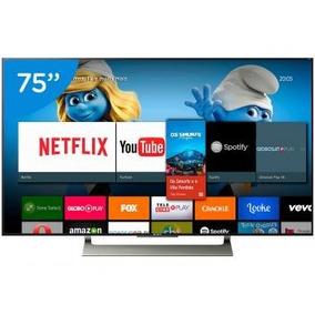 Smart Tv Led 75 Sony 4k/ultra Hd Xbr-75x905e - Conversor Di