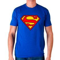 Playera Superman Dc Comics Geek Modelos Mayoreo Catalogo