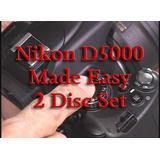 Nikon D5000 Feito Fácil Treinamento Dvd 2 Disc Definir