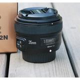 Lente Yongnuo 35mm 2.0 N Para Nikon