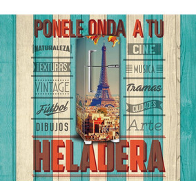 Vinilo Decorativo Para Heladeras - Plotter - Personalizados