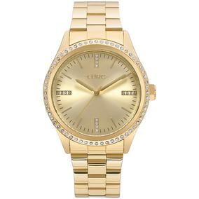 da00c83946e Relógio Euro Feminino Pedras Dourado - Eu2035ynt 4d por Time Center