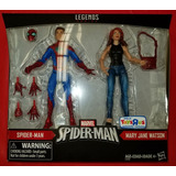 Caja Dañada Marvel Legends Spiderman Mary Jane Watson