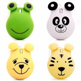 Mouse Infantil Usb Resolução 1000cpi Knup Ambidestro Lindo!!