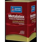 Tinta Acrilica 18l Marfim Metalatex Sherwin-williams C05-118