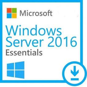Windows Server 2016 Essentials + Nf-e