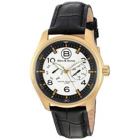 Ben & Sons Marshall Reloj Hombre Cuarzo 44mm Correa Cuero
