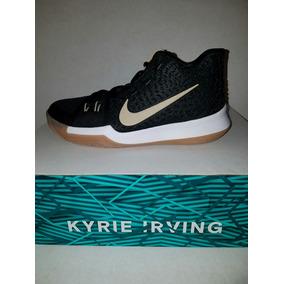 Tenis Nike Kyrie Irving 3 Black Niño Talla 24 Mex
