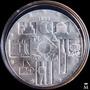 Mg* Uruguay Cambio De Milenio Moneda De Plata Excelente!