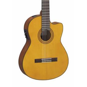 Guitarra Electro Criolla Yamaha Cgx 122 Msc Artemusical