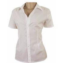 Camisete Camisa Feminina Mista Tricoline Uniforme
