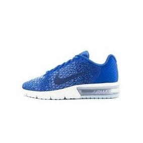 Tenis Nike Wmns Air Max Sequent 852465-404 Azul/blanco