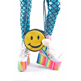 Cartera Bandolera Emoticon Smile Carita