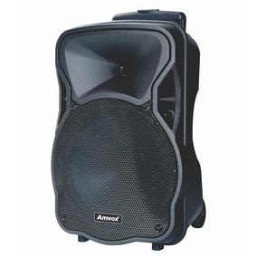 Caixa De Som Amplificadora Bluetooth 180w Rms Amvox - Aca180