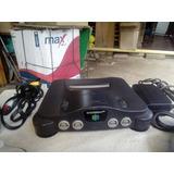 Vendo Nintendo 64 Con Dos Controles Un Juego Buen Estado