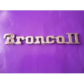 Emblema Bronco 2 Ford Camioneta Bronco Dos