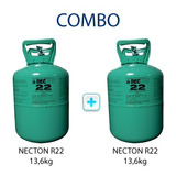 R22 X 13,6 Kg X 2 Unid Combo 2 R-22 Necton Gas Refrigerante