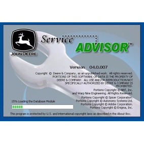 John Deere Service Advisor Diagrama Partes Maquinaria Pesada