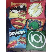 Cojin Decorativo Super Heroes Envio Gratis