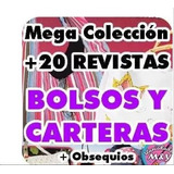 Mega Colección Revistas Patrones Moldes Bolsos Carteras