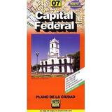 Capital Federal - Plano De La Ciudad - - Automapa