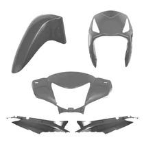Carenagem Kit Compl Biz 125 Cinza 08/09 S/freio A Disco