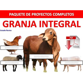 Paquete Completo De Proyectos Cria Cerdos Gallinas Vacas Mas