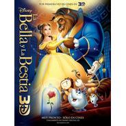 Poster Original Cine La Bella Y La Bestia