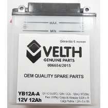 Bateria Velth Honda Cb400 Cb450 Cbr 450 Yb12a-a
