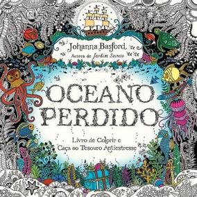 Livro De Colorir Antiestresse Oceano Perdido Shop Tendtudo