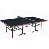 Mesa De Ping-pong Plegable Con Ruedas Excelente Calidad