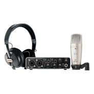 Sistema Completo De Grabacion Behringer U-phoria Studio Pro