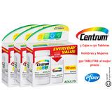 ¡oferta 390 Tabletas! Centrum Adultos Menores De 50 Años