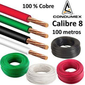 Caja de 100 metros de cable del n 8 condumex en mercado - Cable electrico exterior ...