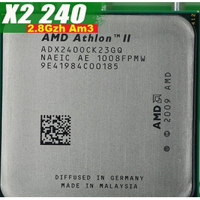 Athlon Ii X2 240 2.8 Ghz 2 M Cache Socket Am3 Am2+