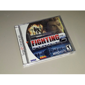 Fighting Force 2 Sega Dreamcast Americano Completo Excelente