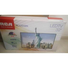 Televisor Nuevo Ledtv 32 Marca Rca Modelo Rc32d16n Hdmi